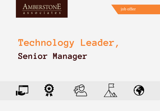 Technology Leader, Senior Manager