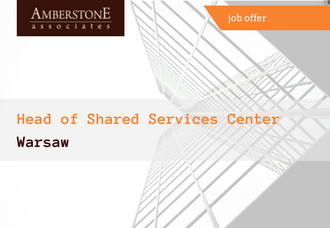 Head of Shared Services Center