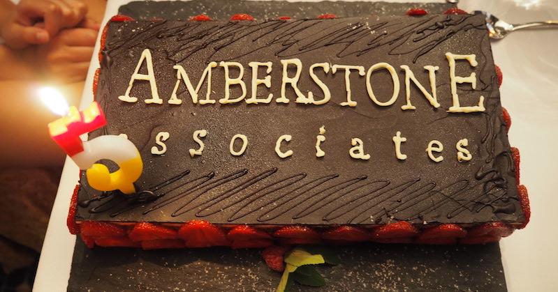 Amberstone Associates' 5th birthday