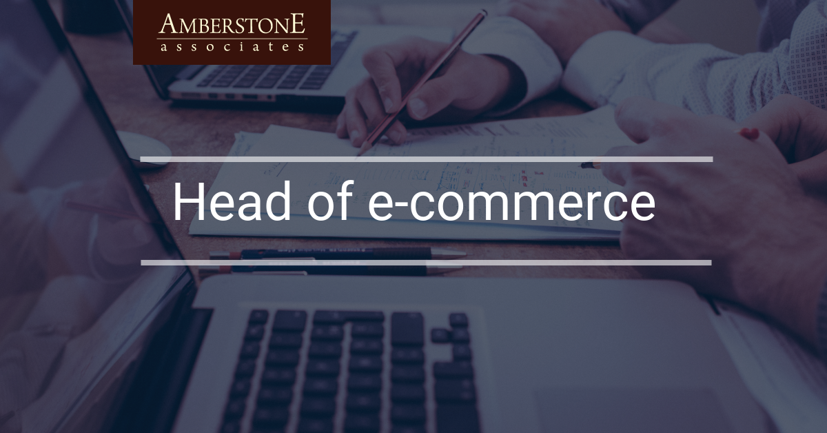 Head of e-commerce