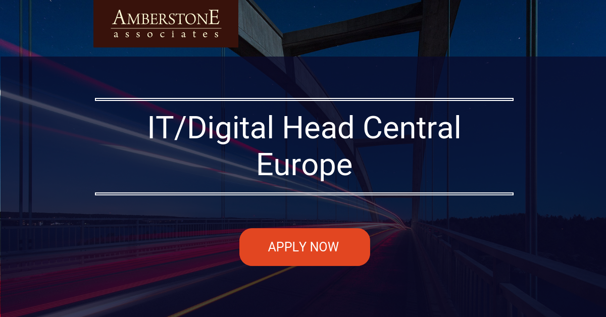 IT/Digital Head Central Europe