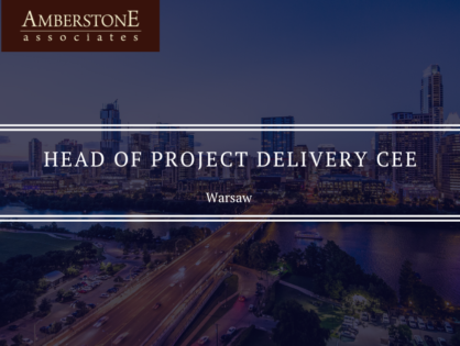Head of Project Delivery CEE