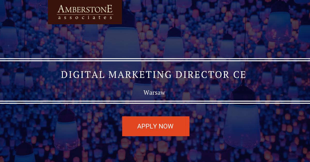 Digital Marketing Director for CE