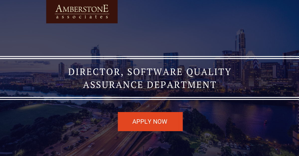 Director, Software Quality Assurance Department