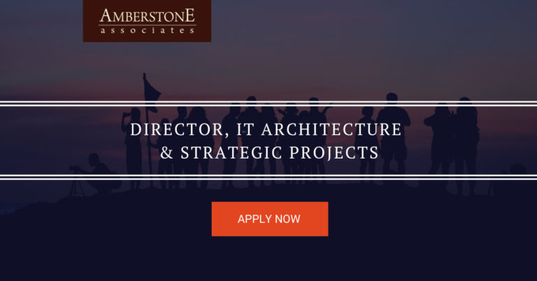 Director, IT Architecture & Strategic Projects
