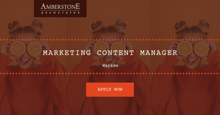 Marketing Content Manager