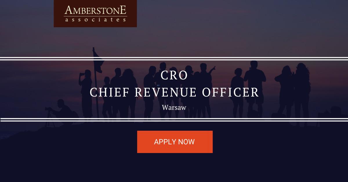 Chief Revenue Officer